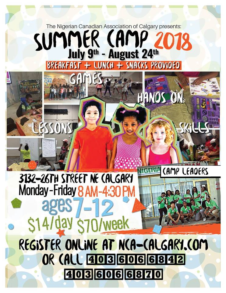 Ncac Summer Camp Nigerian Canadian Association Of
