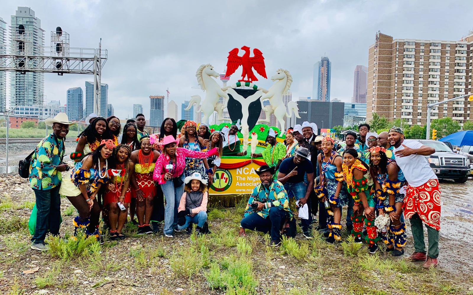 Stampede Parade Nigerian Canadian Association Of Calgary